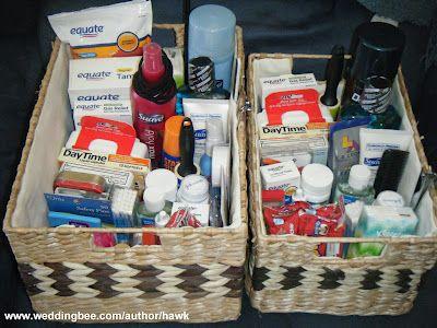 Bathroom Baskets For Wedding Guests To Share At Reception Wedding Bathroom Bathroom Basket Wedding Bathroom Baskets