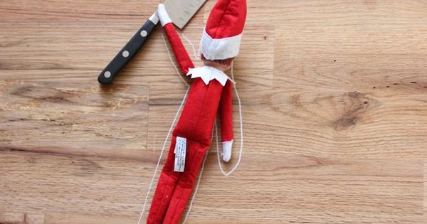 5 Highly Inappropriate & Traumatizing Elf On The Shelf Ideas