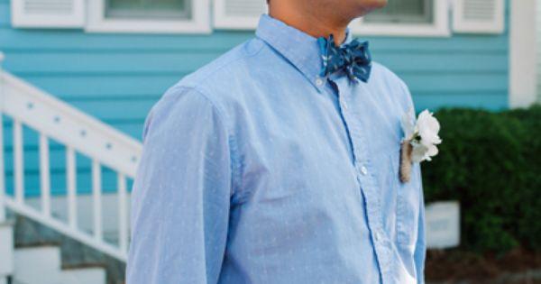 Wedding tie - colorful look for the groom | Dear Wesleyann