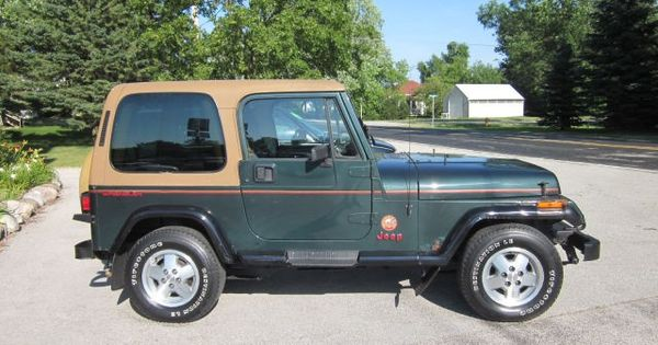 Preowned Jeep Store >> 1993 Jeep Wrangler Sahara | My Old Junkers | Pinterest | Wrangler sahara, Jeep wranglers and Jeeps