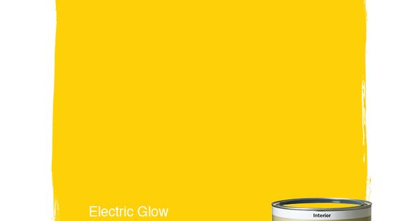 Dunn Edwards Paints Yellow Paint Color Electric Glow