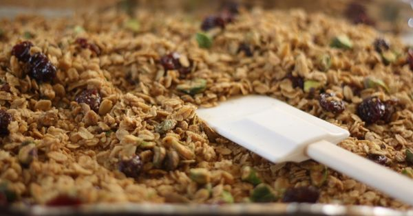 cardamom maple olive oil granola | butter me up brooklyn ...