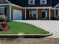 The Importance Of Pop Up Drain Emitters Backyard Drainage Landscape Drainage Drainage Solutions