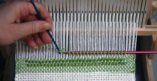 Spa Wash Cloth On A Rigid Heddle Loom Syne Mitchell Rigid Heddle Weaving Loom Weaving Tapestry Weaving