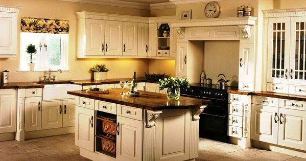 Cream Kitchen Cabinets What Colour Walls   Kitchen Rehab   Pinterest   Cream  Kitchen Cabinets,