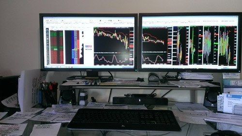 Home Trading Desks Traders Computers Around The World Trading