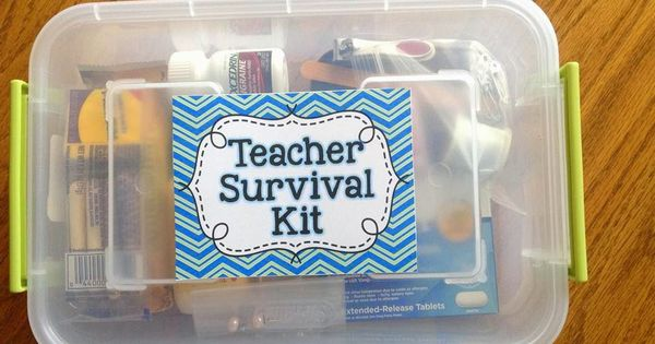 Back to School Teacher Survival Kits: What to keep in your kit