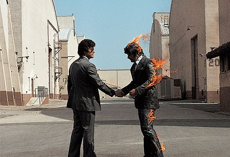 Pink Floyd: Wish You Were Here- Love playing the song WYWH on