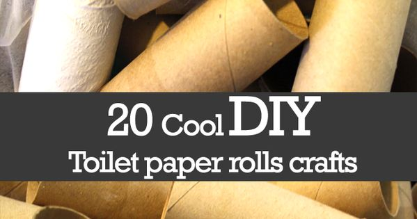 20 cool diy toilet paper rolls crafts 101 things to do for Things to do with empty toilet paper rolls