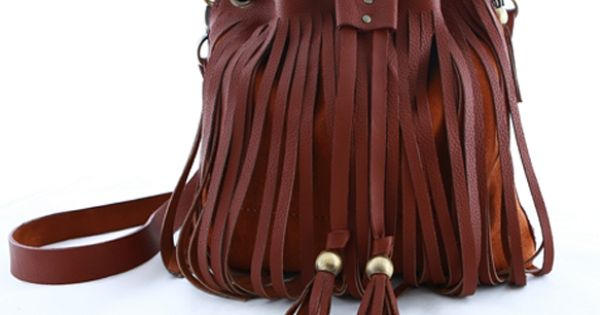 fringe leather bag...LOVE IT!