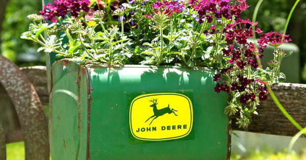 John Deere Flower Pots : The best use of a john deere planter flower pots