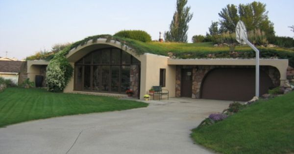 Cedar Falls Ia This Terra Dome Earth Sheltered Home Is