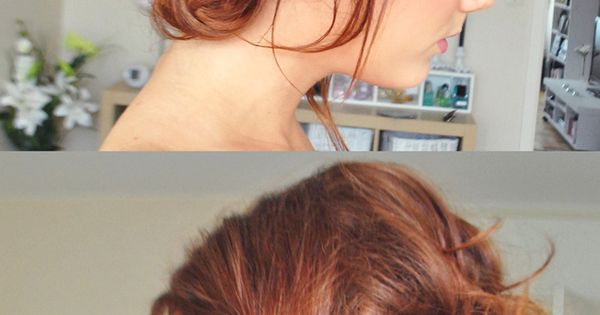 Bridesmaids Hairstyles: Messy Updos