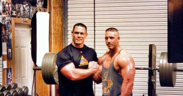My Champ John Cena and his brother Matthew Cena | Things I ...