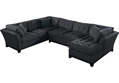 Sectional...I like the shape, just a different color
