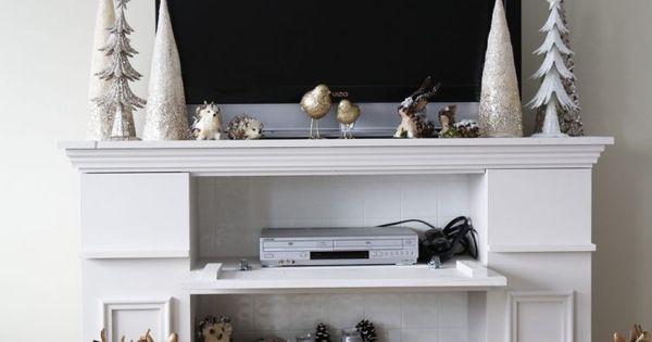 manteau de chemin e d coratif fait maison in diy and. Black Bedroom Furniture Sets. Home Design Ideas