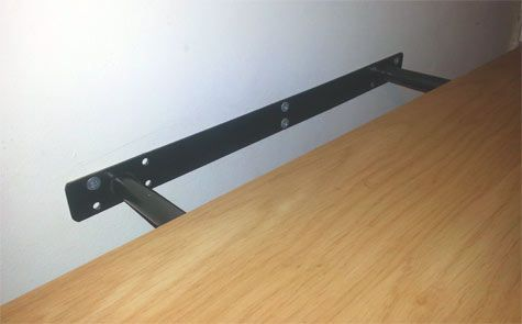 Floating Shelves And How To Install A Floating Shelf Ikea Lack Shelves Floating Shelf Fixings Shelves