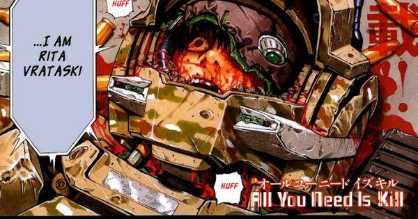 All You Need Is Kill Manga Edge Of Tomorrow Manga All You Need Is