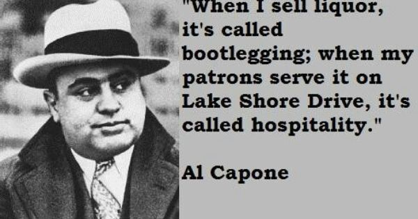 a biography of al capone an organized crime boss Colosimo was then the top mob boss of chicago his death while his compatriot in crime, al capone capone has had a lasting impression on chicago and on the image of the city's organized crime element capone's life is legendary.