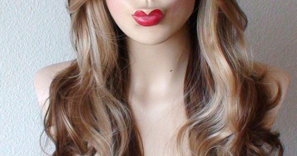 Coffee / Strawberry Blonde Ombre wig. Daily wearing by ...