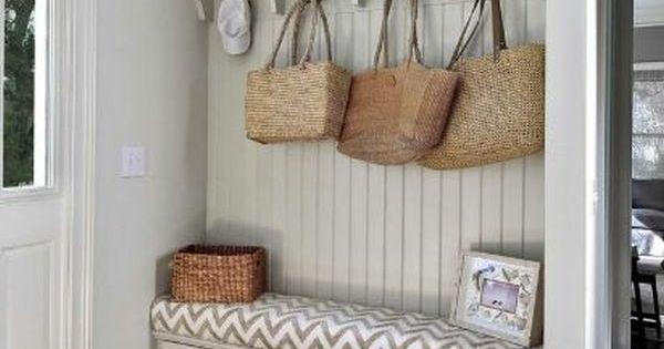 Aménagement entrée: 31 magnifiques exemples  Crochet, Entrées et ...