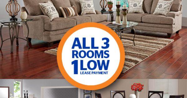 Lease 3 Room Package Shop For Bedroom More Rental Furintuer Pinterest