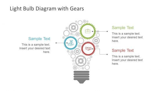 Light Bulb Diagram Gears Powerpoint Shapes Powerpoint Slide Designs Background For Powerpoint Presentation Powerpoint