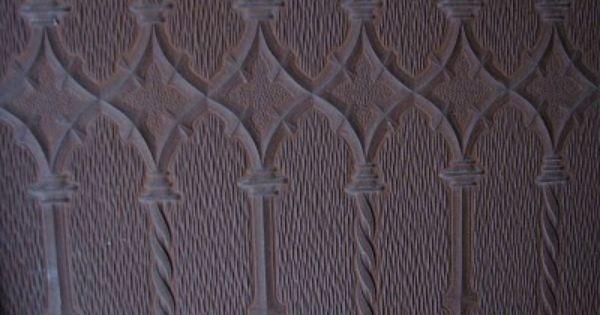 Anaglypta Wrought Iron Pattern House Anaglypta