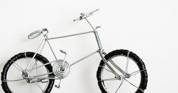 Wire Bicycle Bicycle Bike Art