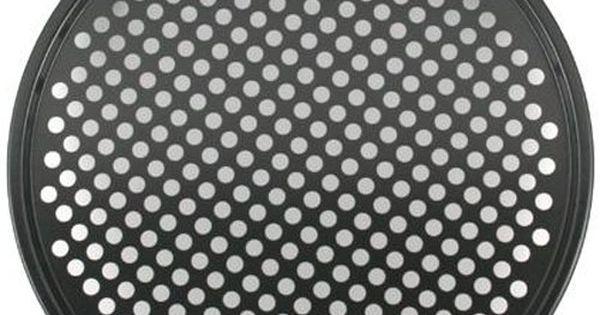 Metaltex 223174Superior Pizza Baking Sheet Black