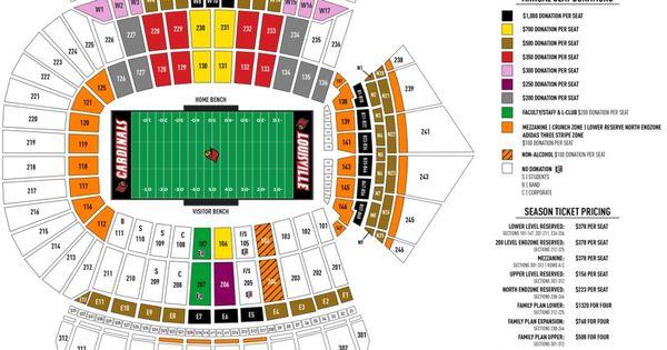 Papa John S Cardinal Stadium Seating Chart Seating Charts Papa Johns Chart