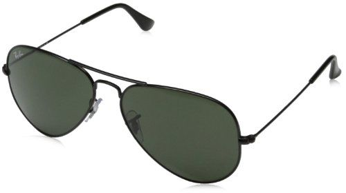 Ray Ban Unisex Sonnenbrille Aviator Gr Large Herstellergrosse 58 Schwarz Schwarz L2823 Sonnenbrille Coole Geschenke Fur Frauen Und Unisex