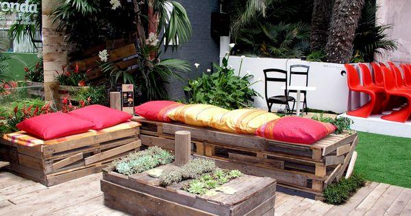 Reciclaje de palet muebles hechos en casa reciclaje - Reciclaje de palet ...