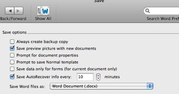 Learn How To Recover Unsaved Microsoft Word Document On Mac Os X