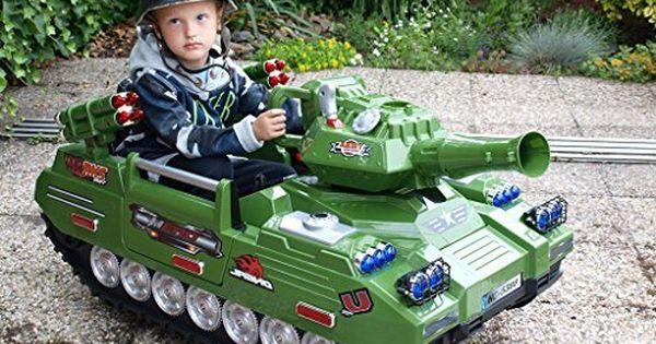 Panzer Mit Radio Und Mp3 Anschluss Kinderauto Kinderelektroauto Kinderelektrofahrzeug Kinder Elektroauto Panzer Tank Fernmeldep Kinder Autos Elektroauto Panzer