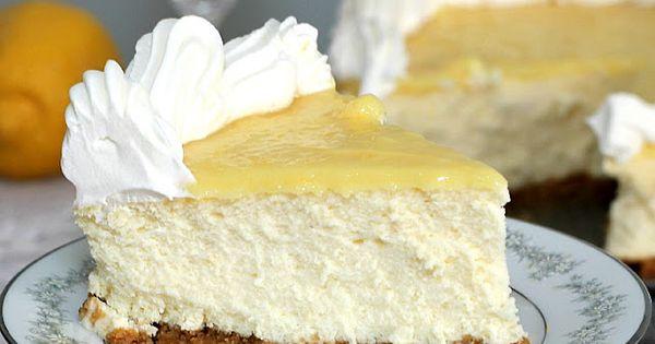 Triple Lemon Cheesecake- really yummy, but tastes more like lemon meringue pie