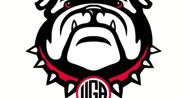 monogram  georgia bulldogs  uga  vector  die cut files  dxf  svg files for cricut  silhouette