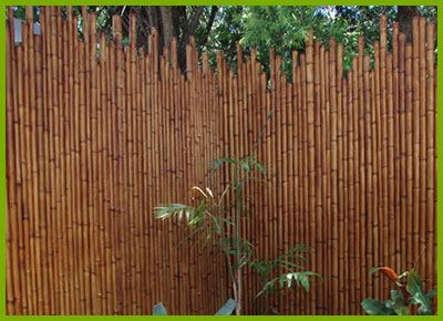 Home Gardening Bamboo Fence Cheap Fence Fence Landscaping