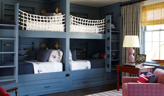REALLY want built in bunks for kids rooms! 4 in girls room