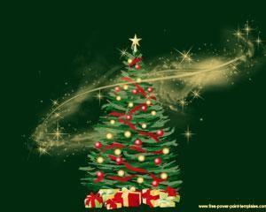 Diseño De Powerpoint Con árbol De Navidad Para Presentaciones Ppt Plantillas De Tarjetas De Navidad Planta De Navidad Plantillas De Tarjetas