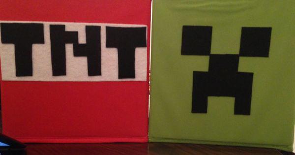 Wordpress Com Minecraft Fabric Minecraft Storage Storage Boxes