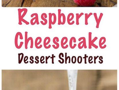 Cheesecake Dessert Shooters | Recipe | Dessert Shooters, Cheesecake ...