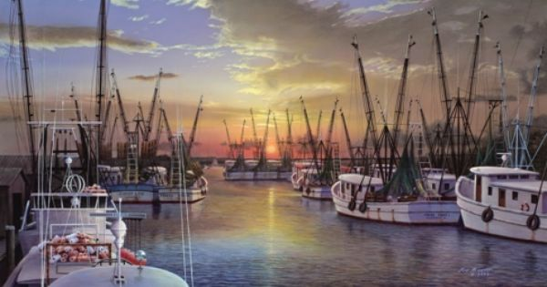 Shem Creek By Jim Booth Charleston South Carolina