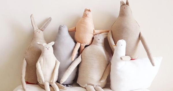Charming Handmade Soft Toys by Furze Chan