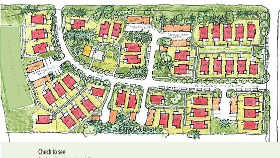 Planning neighborhoods for small houses