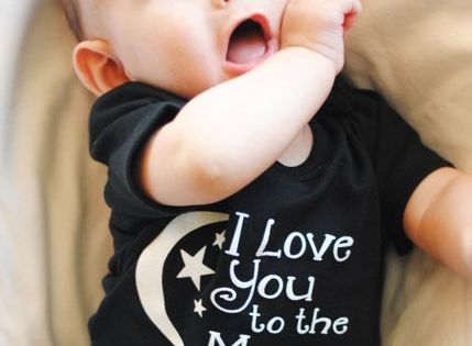 Baby Onesie, Baby Onesie, Baby Onesie, I love you to the Moon