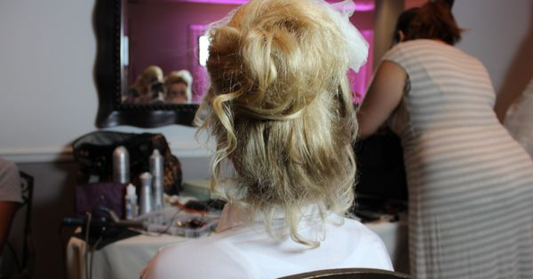 spanish wave weave hairstyles : hair : wedding makeup : this hairstyle was created by : Southern Belle ...
