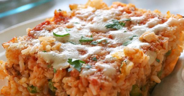 Sicilian Rice Ball Casserole | Recipe | Rice ball ...