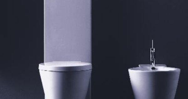 duravit starck 1 d16022 close coupled two piece toilet by philippe stark bad pinterest. Black Bedroom Furniture Sets. Home Design Ideas