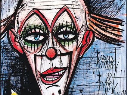 1999 ), Clown Au Fond Bleu, 1991
